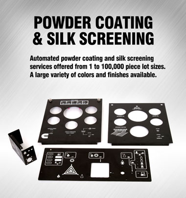 Application Solution: Powder Coating and Silk Screennig